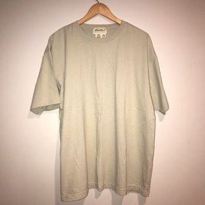 Yeezy like Cream Oversized T-shirt